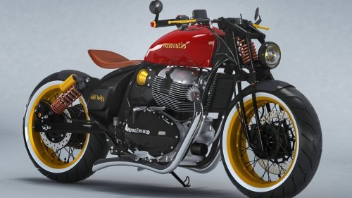 This Royal Enfield Continental GT 650 Modified as a Bobber will Rule Your Heart