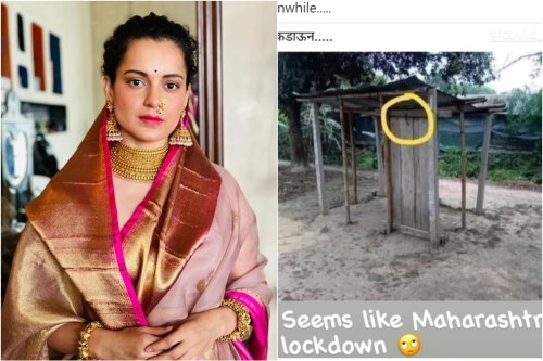 Kangana Ranaut Takes a Dig at Maharashtra Lockdown Again with a Funny Meme