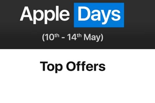Flipkart Apple Days Sale May 2021 Now Live: Top Offers on iPhone 12, iPhone 12 mini and More