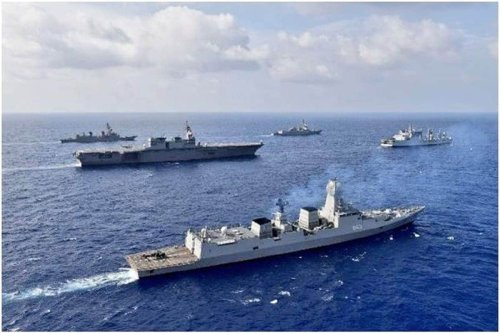 India, US Kick Off Mega Wargame in Indian Ocean with Eye on China