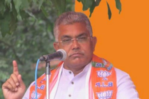 People of Bengal Want White Beard, Not White Saree: BJP's Dilip Ghosh at Poll Rally