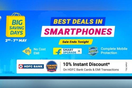 Flipkart Big Saving Days Sale May 2021 Ends Tonight: Last Minutes Deals on Realme 8, Poco M3