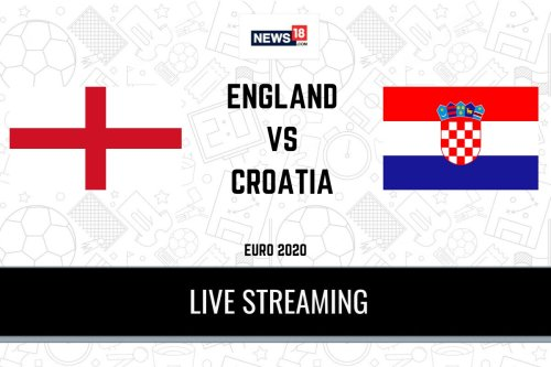 England vs Croatia Euro 2020 Live Streaming: When and Where to Watch Live Telecast, Timings in India, Team