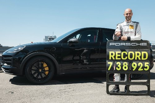 Porsche Cayenne Coupe Breaks Record for Fastest SUV at Nurburgring Circuit, Beats Audi RS Q8