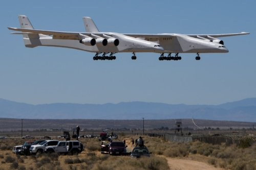 Stratolaunch, the World's Largest Airplane, Successfully Completes Second Test Flight