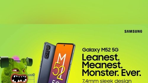 Samsung Galaxy M52 5G With 120Hz Display to Launch in India on September 28