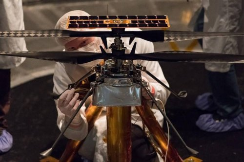 No Sky Too High: How Ingenuity Aircraft Proved Flight on Mars was Possible