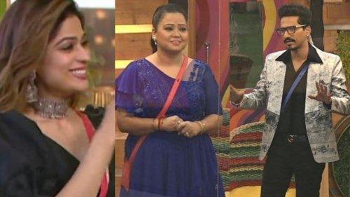 Bigg Boss OTT: Haarsh Limbachiyaa Flirts With Shamita Shetty; Bharti Singh Says 'Biwi ke Saamne...'