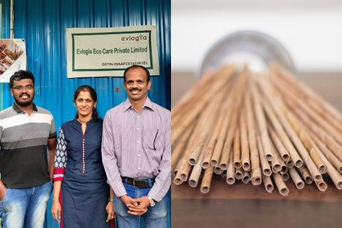 Sip Your Drink Guilt-free: Bengaluru Start-Up Makes Eco-Friendly Straws Out of Dried Coconut Leaves