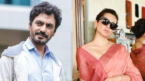 Kangana Ranaut Calls Nawazuddin Siddiqui 'One of the Best Actors in the World' After His Emmy Nod