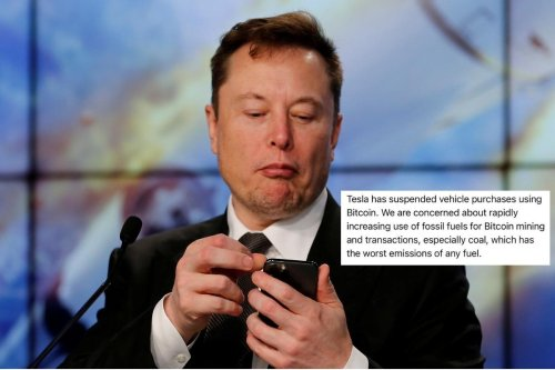 Elon Musk's Tesla Will No Longer Accept Payment in Bitcoin and 'Environment' is the Reason