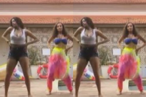 Janhvi Kapoor Grooves on Cardi B's 'Up' by the Poolside, Watch Video