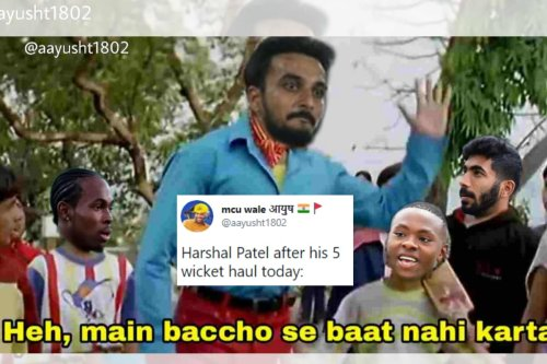 Harshal Patel's Incredible Last Over Against Mumbai Indians Prompts Meme Fest on Twitter