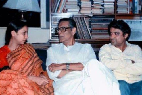 Shabana Azmi Shares Photo with Satyajit Ray, Fans Say Farhan Akhtar Looks Like Young Javed Akhtar