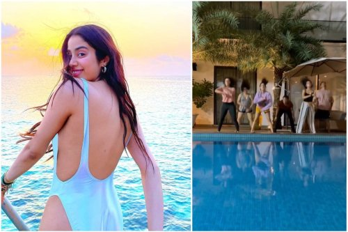 Janhvi Kapoor and Her Squad Busts Hilarious Moves to Cardi B's Up in Instagram Reel