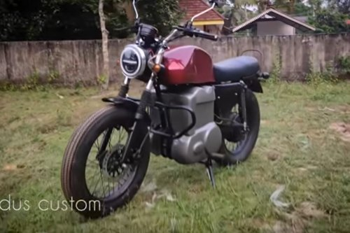 Kerala Man Builds Electric Motorcycle from Scratch at Home, Modifies it into a Roadster: Watch Video