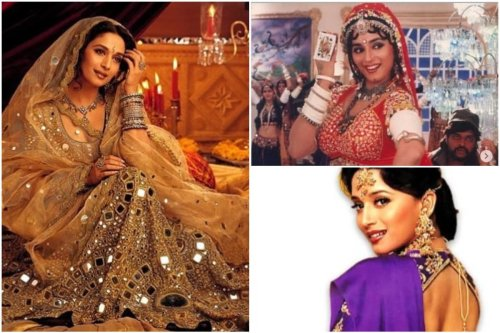 On Madhuri Dixit's Birthday, Here's a Look at the Actor's Iconic Bollywood Fashion Moments