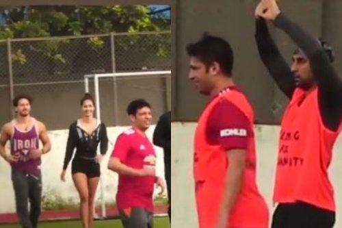 Tiger Shroff, Disha Patani, Ranbir Kapoor: Bollywood Actors Spotted Practicing Soccer