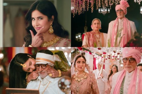 Watch: An Emotional Amitabh Bachchan Marries Off Daughter Katrina Kaif in New TVC