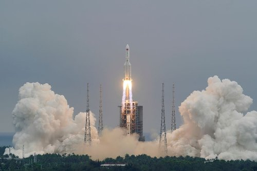 China's Long March-5B Rocket to Tumble Back to Earth in Uncontrolled Re-entry