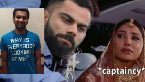 Rohit Sharma Fans Storm Twitter With Memes as Kohli Says Goodbye to T20I Captaincy