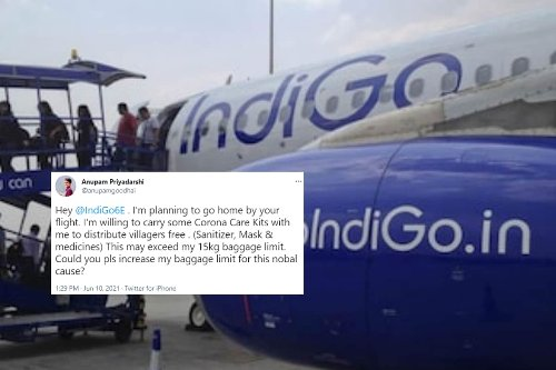 Bihar Man's Plea to Raise Baggage Limit to Carry Covid Kit to Village Gets Approved By Airline