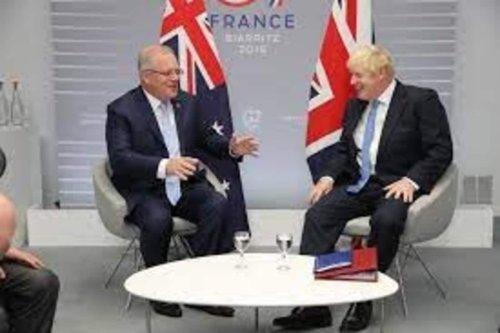 UK PM Boris Johnson, Australia's Scott Morrison Agree Historic Free Trade Agreement