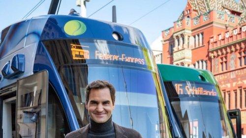 Federer Express: Roger Federer Now Has a Tram Named After Him in Basel