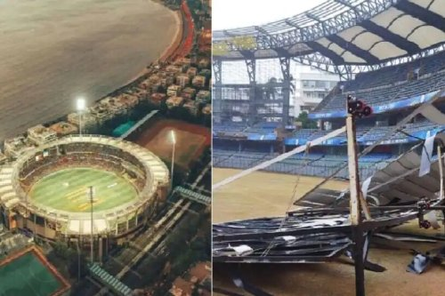 Cyclone Tauktae: Not Even the Mighty Stadiums Were Spared From The Wrath