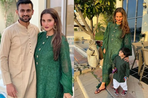 Sania Mirza Celebrates Eid in Dubai with Husband Shoaib Malik and Son Izhaan