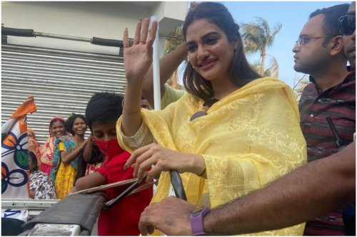 What BJP Leaders Said After Sitalkuchi Was Scary, Vote For Didi to Save Bengal: Nusrat Jahan