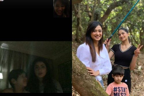 Shweta Tiwari Shares How She Keeps Up With Her Kids While Away in South Africa