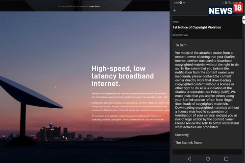 Give Up Your Piracy Habit If You Are Planning To Preorder SpaceX's Starlink Satellite Broadband