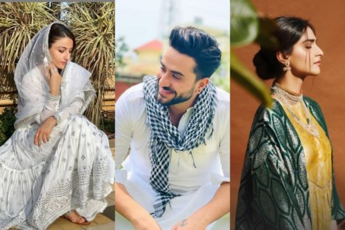 In Pics: Take a Look at These Celebs Setting Fashion Goals With Their Eid Attire