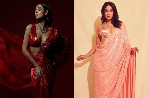 PHOTOS: From Malaika Arora To Kareena Kapoor, Which Bollywood Diva Looks Sexiest In Saree?