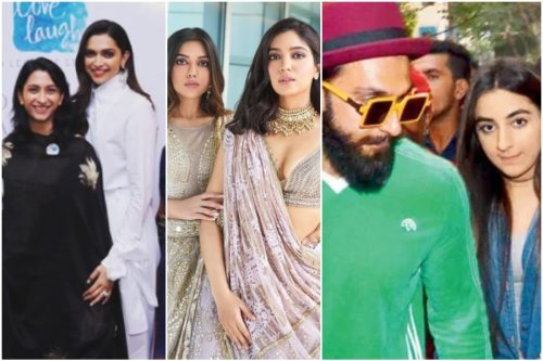 In Pics: Bollywood Celebs and Their Lesser Known Siblings