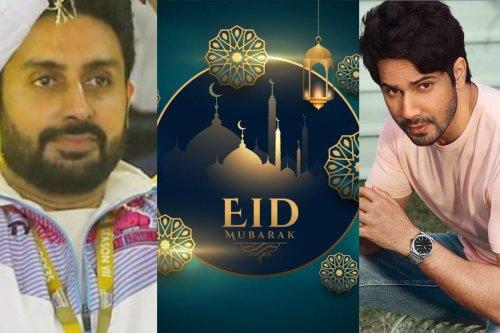 Varun Dhawan, Abhishek Bhachchan, Dulquer Salmaan and Other Celebs Wish Fans Eid Mubarak