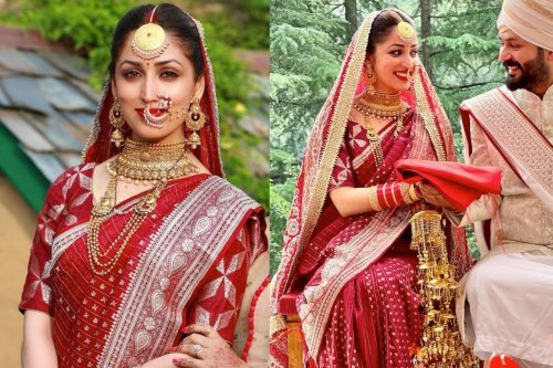 All Details of Yami Gautam's Bridal Look Revealed, Actress Wore Mother's 33 Years Old Saree