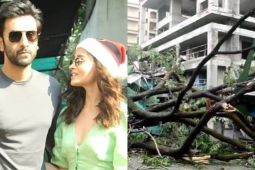 Cyclone Tauktae Wreaks Havoc Outside Ranbir Kapoor-Alia Bhatt's Under-construction Home