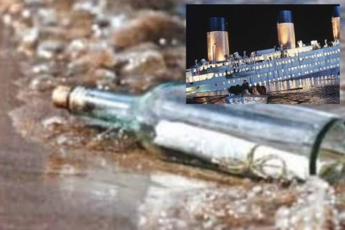 Tragic Note Found in Glass Bottle on Canadian Beach May Be Written on Titanic Before it Sank