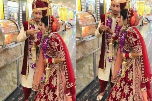 WATCH: Desi Groom Feeding 'Gol-gappa' to Bride is Giving Netizens Couple Goals