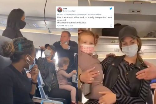 WATCH: US Family Asked to 'Deboard' Flight for Toddler Not Wearing Mask, Twitter Left Fuming
