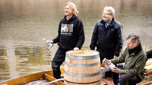 Hannover: Boot mit ungewöhnlicher Ladung unterwegs