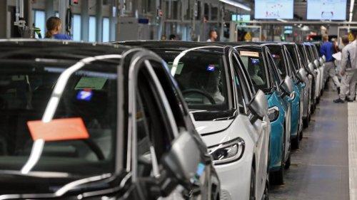 VW: Nur der Golf wird produziert – andere Bänder stehen still