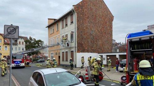 Helmstedt: Brand mit starker Rauchentwicklung