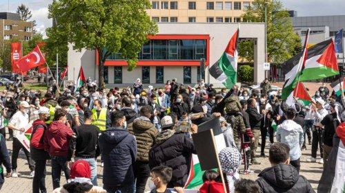 Salzgitter: Palästina-Demo beginnt ruhig – und endet mit Auseinandersetzungen