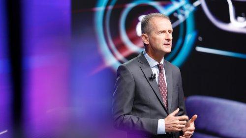 """VW-Chef Herbert Diess erteilt dieser Marke eine klare Absage – """"Nicht mehr zeitgemäß"""""""