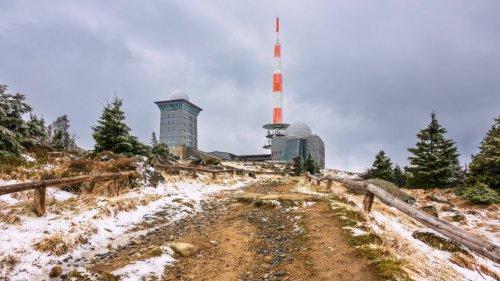 """Harz: Endlich Schnee auf dem Brocken! – """"Wird auch mal Zeit"""""""
