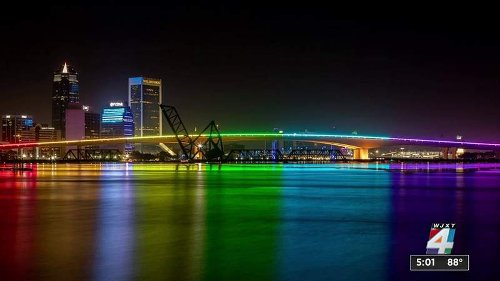 Acosta Bridge's rainbow lights return; I-TEAM uncovers why they were shut off