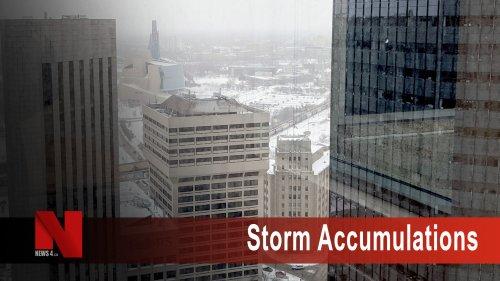 Storm brought largest snowfall of the season to Winnipeg